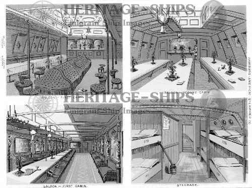Interiors 1876 - Gellert, Herder, Wieland and Lessing