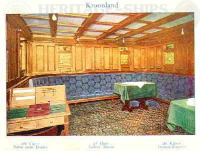 Kroonland - 2nd class ladies room