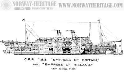 Empress of Ireland and Empress of Britain (1)