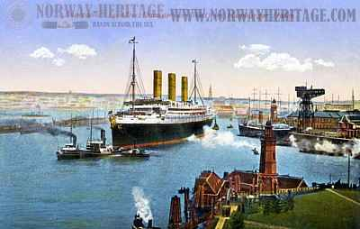 hamburg america line steamship company hapag. Black Bedroom Furniture Sets. Home Design Ideas