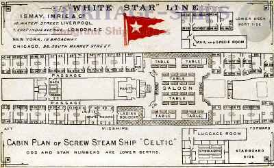 Celtic (1) - cabin plan