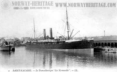 La Normandie - post 1894