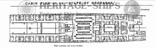 State of Nebraska - cabin plan
