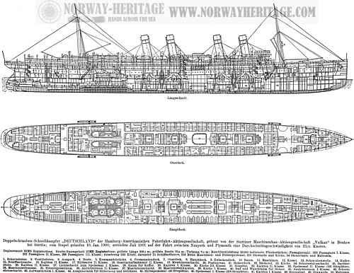 Deutschland 3 Sectional View Id 694 Heritage Ships