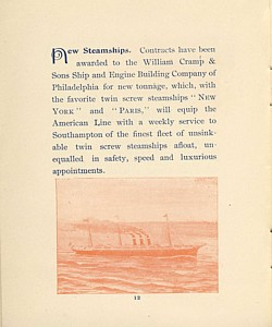 American and Red Star Line - Click Image to Close