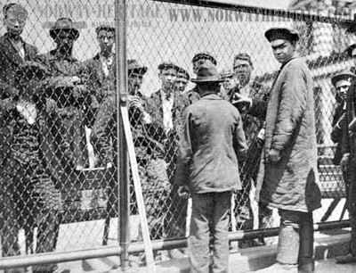 Detention of Immigrants at Ellis Island